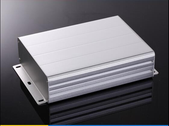 Caja de proyecto carcasa de aluminio eléctrica PCB dividido caja 122X45X160mm DIY NUEVO para montaje en pared