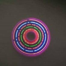 font b LED b font Flash Light Fidget Spinner Fidget font b Toys b font