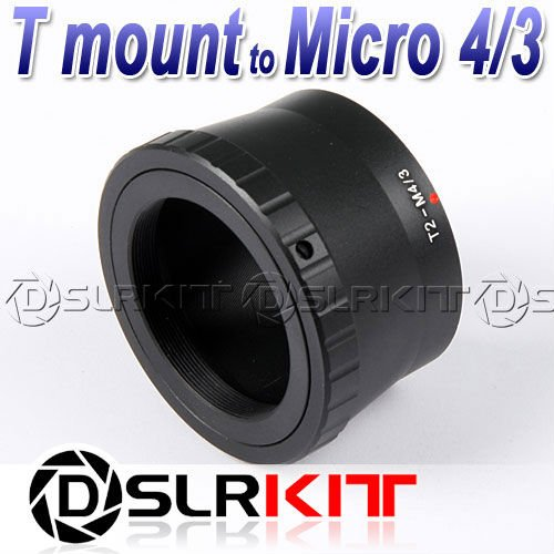 T T2 mount Lens to Micro 4/3 M4/3 Mount Adapter GF1 GF3 G2 G3 E-P3 P2 PL3 PM1 P1