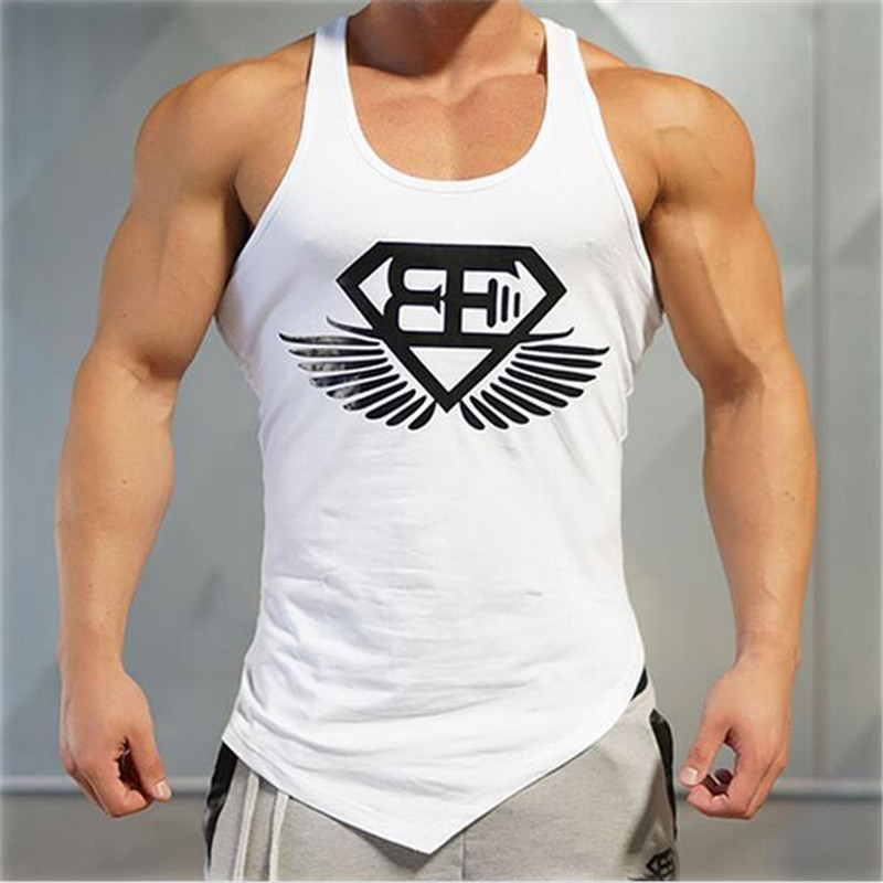 2018 Gyms Muscle Brand Sporting Clothing Bodybuilding Fitness Men Tank Top Golds Gorilla Wear Vest Stringer Undershirt In Tops From Mens