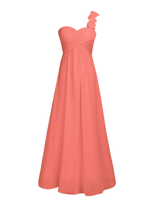 70be4a14004 Online Shop Women Chiffon Pleated Bridesmaid Formal Maxi Dress Long ...