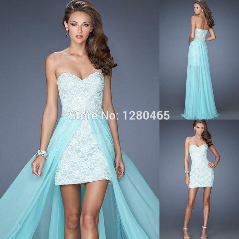 Hi-low prom dresses cheap