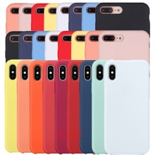Original Official Silicone Case For Apple iPhone