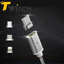Twitch Magnetic Micro USB Data Adapter for iPhone5 6s 7plus Magnet Charging for Android Mobile Phone Charger Adapter for Type-C