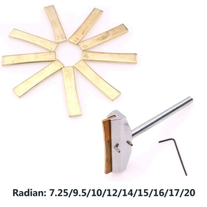 Image 4 - ไฟฟ้ากีตาร์ซ่อมเครื่องมือโลหะผสมFretboardกดCaulกดCaulแทรกเครื่องดนตรีอุปกรณ์เสริม Golden,เช่นคำอธิบาย