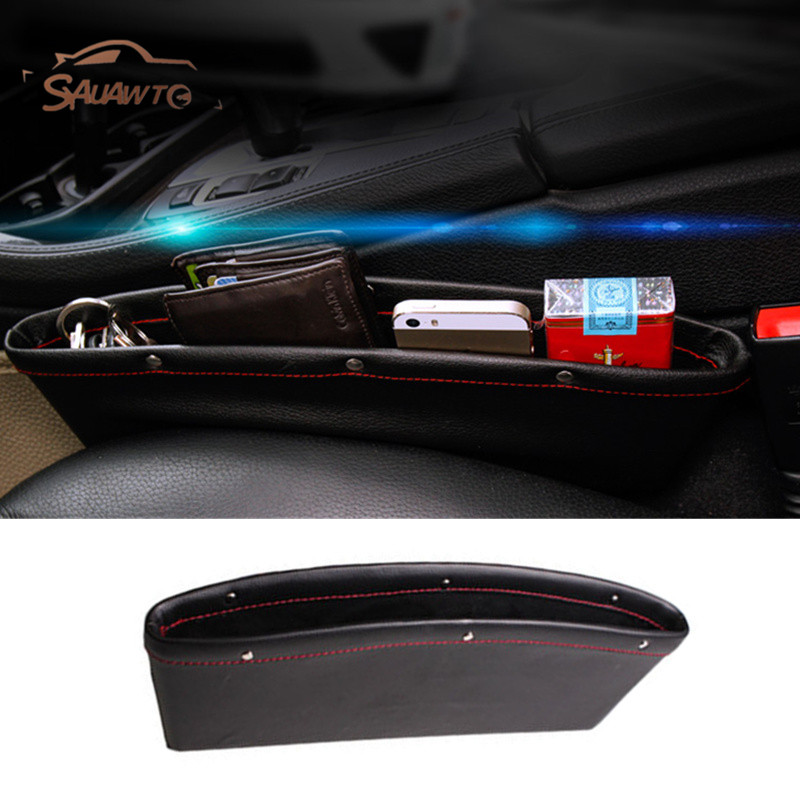 Car Seat Gap Filler Pocket Storage Organizer For Nissan Tiida note almera primera pathfinder teana Qashqai j11 Juke X-trail