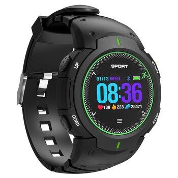 32c1cf2ff F1 GPS reloj de los hombres de moda SIM llamada cámara Multi-deporte modos  podómetro Monitor de ritmo cardíaco rastreador de ejercicios inteligente