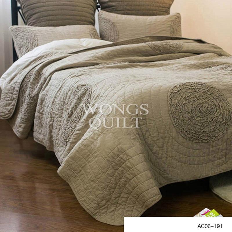 New 2016 100% Cotton Comforter Luxury 3pcs set Bedspread ...