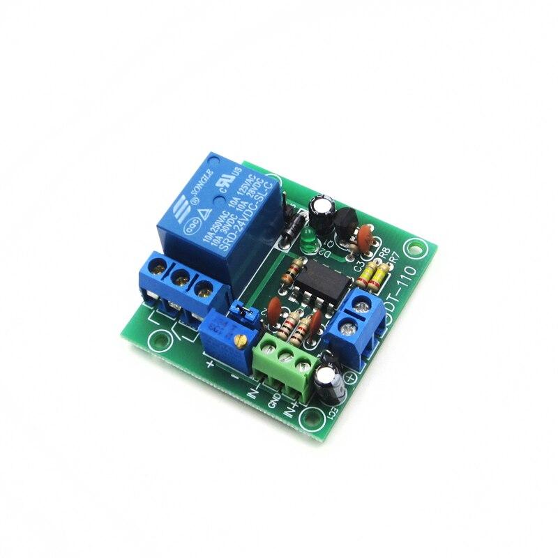 DC 5/12/24V 1-Ch Circuit Modifications Voltage Comparator LM393N Remote Control Multan