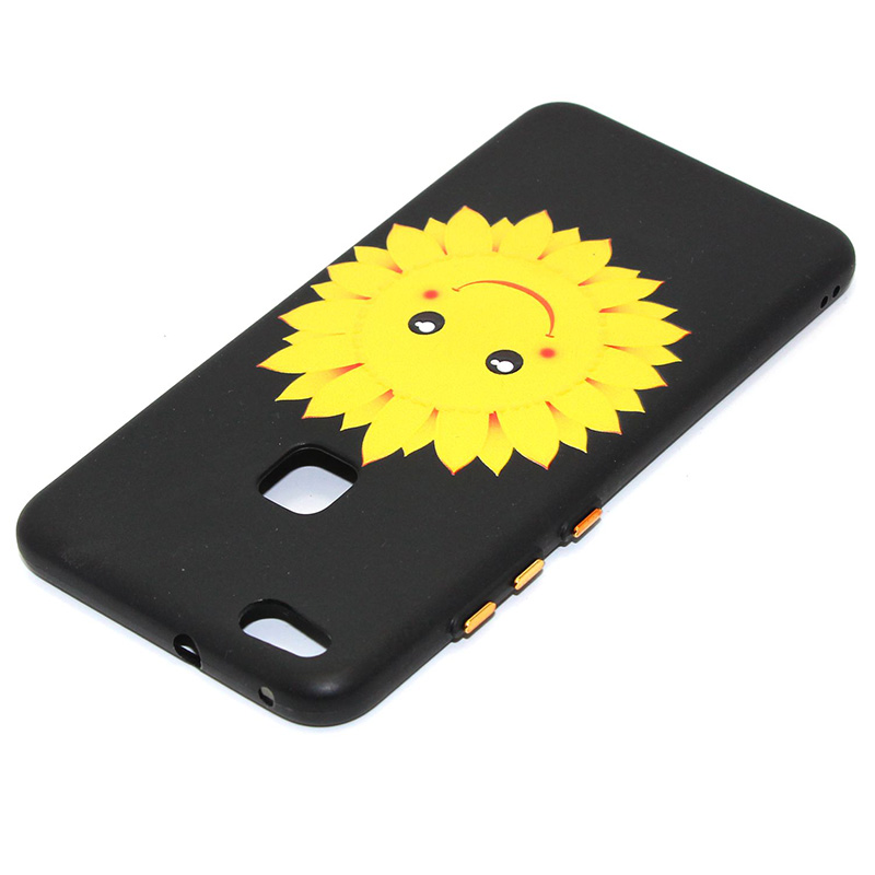 3D Relief flower silicone huawei P10 lite (17)