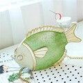 2016 НОВЫЙ дизайн лето пакет цепи сумку женщины мешок рыбы животных моделирования моделирование рыбы сумку небольшой пакет хит цвет