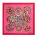 2016 mulheres de seda lenço quadrado de 130 * 130cm100 % pure silk marca de moda lenços cachecol inida grande de seda xailes pashminas envoltório