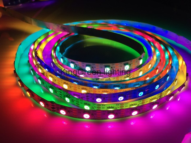 Aliexpress buy 2mx best quality addressable led strip sk6822 2mx best quality addressable led strip sk6822 144ledm dc5v input 5050smd rgb led strip aloadofball