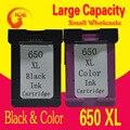 For HP Deskjet 1015 1515 2515 2545 2645 3515 4645 Printer Cartridge Ink , High Quality 650 Ink for HP 650 HP650 ink
