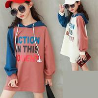 2019 Kids Girls Baby Girls Hoodies Sweatshirt Top Outwear Coats Tops Clothes Outfits T shirts Children Clothing Moleton Infantil