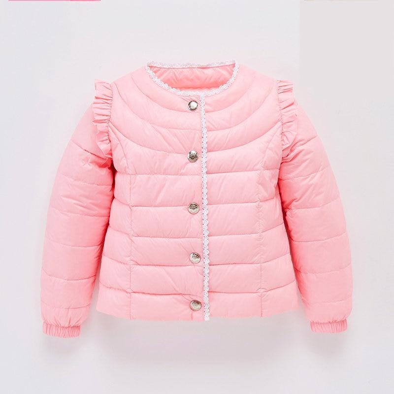 ФОТО Children Winter Infant Down Coat Jacket Meisjes Winterjas Baby Snow Jacket Winter Thermal Overalls Duck Thick Coat 60Z005B