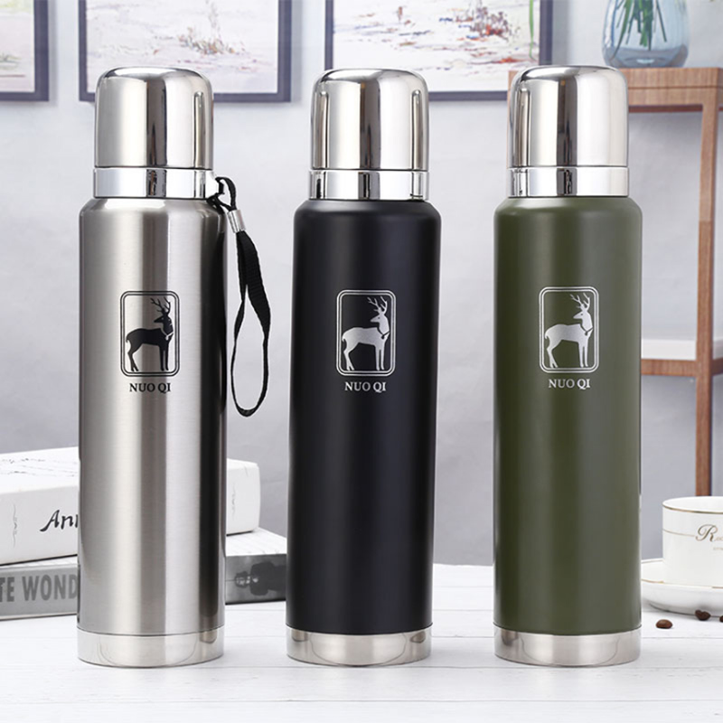 New Thermos Tea Vacuum Flask With Filter Stainless Steel 304 Thermal Cup Coffee Mug Water Bottle