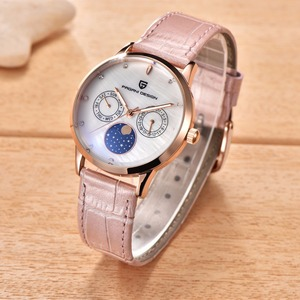 Image 4 - 2019 PAGANI DESIGN Luxury Brand Ladies Clock Fashion Quartz Sports Watches Leather Wristwatch Casual Womens Watch Relojes Mujer
