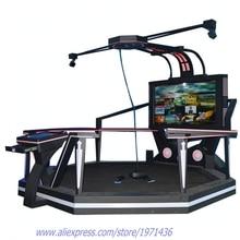 NYST HTC Vive 9D Virtual Reality Interactive VR Cinema Walker Standing Up Simulator Gun Shooting Game Machine