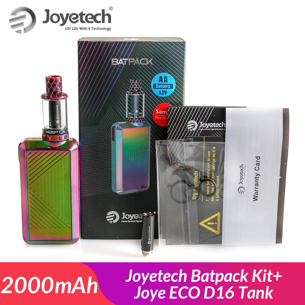 Original <font><b>Joyetech</b></font> Batpack Kit with Joye ECO D16 Atomizer 2ml +<font><b>BFHN</b></font> <font><b>0.5ohm</b></font> head with built in 2000mAh AA Ni-MH E-Cig vape kit image