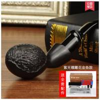 Black rosewood goldfish carved wood pipe Vintage heather filter yuba curved pipe tobacco smoking Authors authentic men