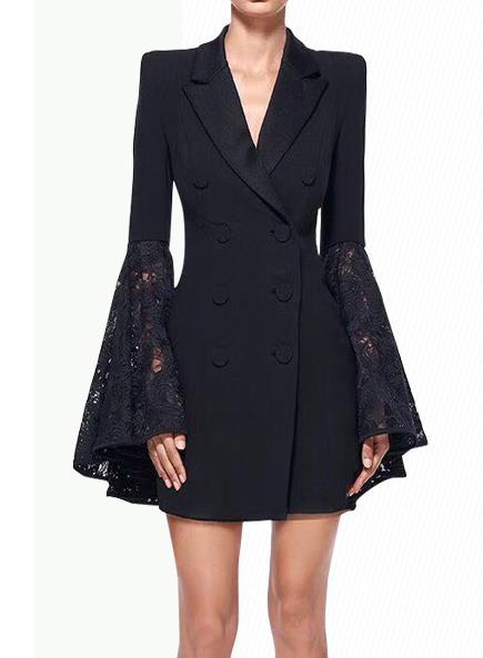 Manteau Breasted Blazer De Double Femelle 2017 Mode Costume vHqwO5