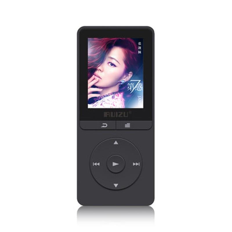Mp3-player Unterhaltungselektronik Ausdrucksvoll Ruizu X20 Tragbare Flac Verlustfreie Hifi Digital Audio Bildschirm Mp 3 Musik Mp3-player 8 Gb Mit Kopfhörer Radio Fm Tf Micro Sd