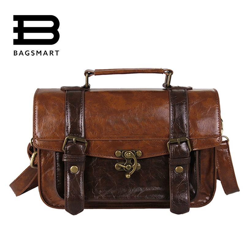 Awesome Business Bag Shoulder Bag Document Briefcase Handbag Men With Leather
