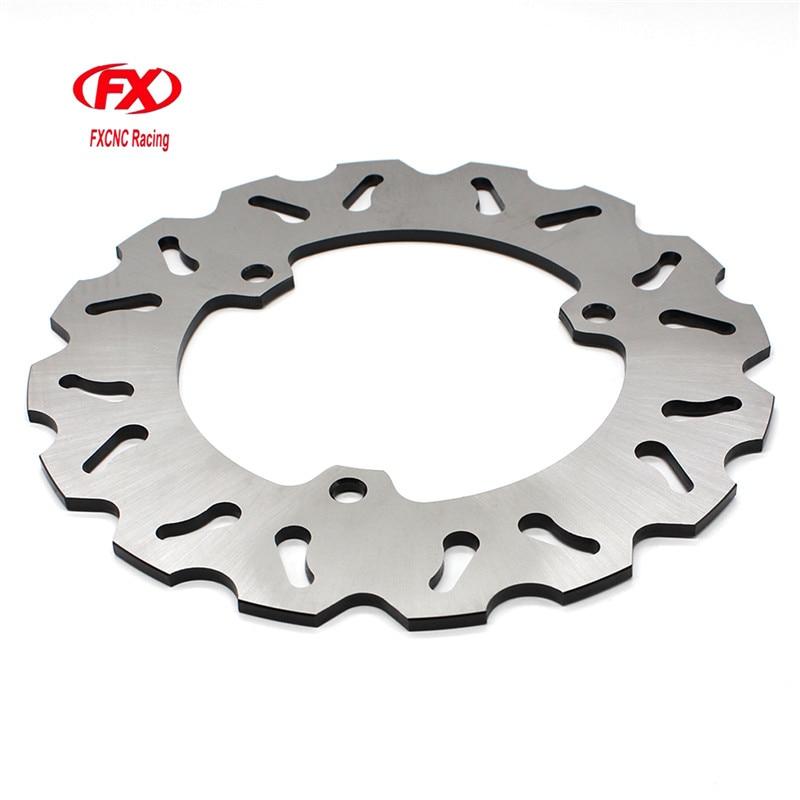 FX CNC Motorcycle Brake Disks Rear Brake Disc Rotor For Yamaha R25 R3 2015 - 2016 Motorbike Rear Brake Disc Rotor disc brake squeal