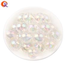 Cordial Design 100Pcs/Lot AB Shiny Transparent Acrylic Beads 20MM Chunky Beads For Fashion Handmade Jewelry CDBD 601195