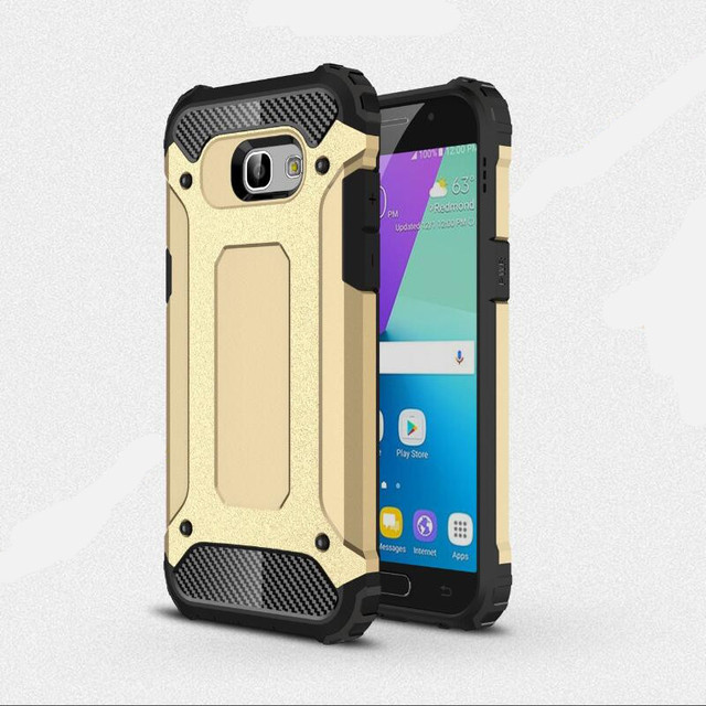 the best attitude fb754 5f0b0 US $2.43 19% OFF|For Samsung galaxy A5 2017 caus Hard rugged armor case  anti knock phone cases double protector Slim Hybrid A520 Cover ( XX1221)-in  ...