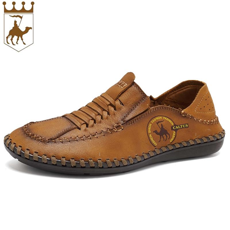 BACKCAME Γνήσια Δερμάτινα Παπούτσια - Ανδρικά υποδήματα - Φωτογραφία 2