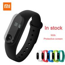 Original Xiaomi Mi Band 2 Wristband Bracelet with Smart Heart Rate Tracker OLED Display Touchpad Sport Fitness Bracelet