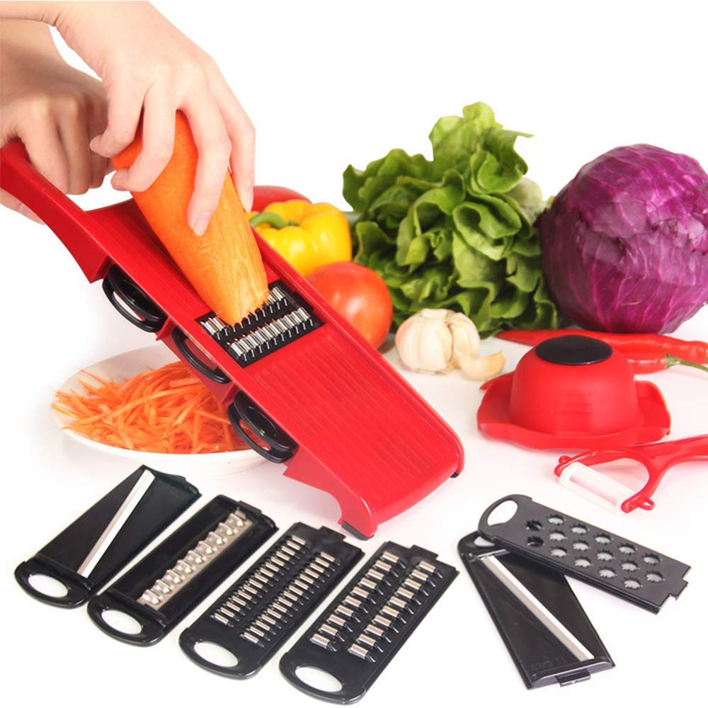 36 Sets CTN DHL Multi purpose Vegetable Slicer Cutter Fruit Cutter Professional 6 in 1 Vegetable