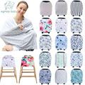 New Fashion Nursing Cover Scarf Canopy Breastfeeding Cover Flowel Multifunction Cape Baby Stroller Cover Infant Car Seat Cover