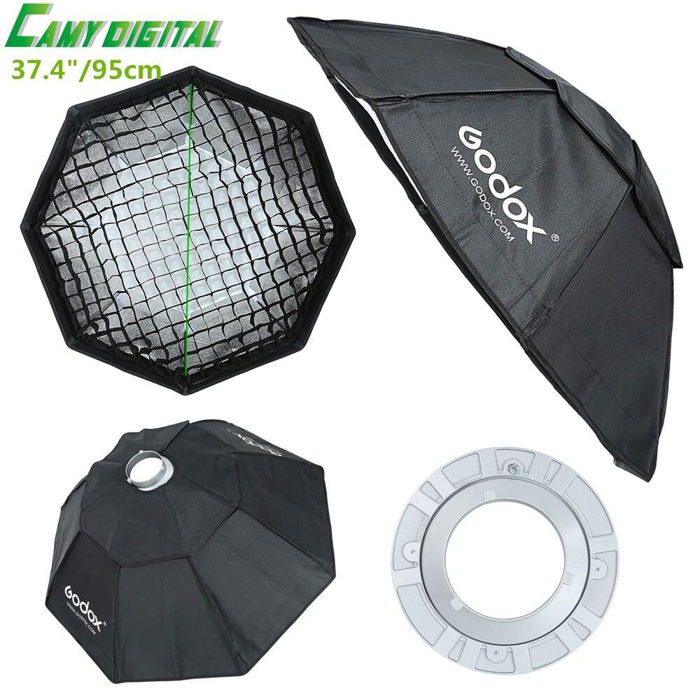 Godox FW95 Studio Flash Accessories Octagon Softbox 37.4