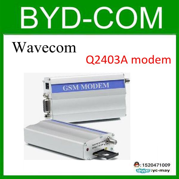 freeship wavecom Q2403A GSM modem for RS232 industrial report equipment 14.4 kbit/s mystery msf 2403