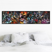 Canvas Big Size Marvel Poster Superhero xmen Warrior Fantasy Fighting Hero Painting Wall Pictures for Living Room Decoration(China)