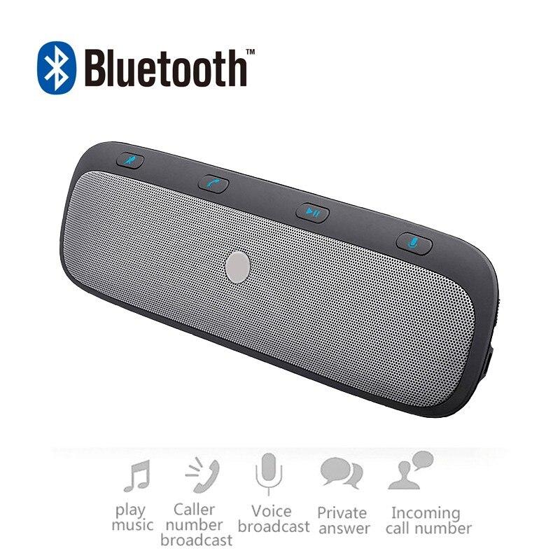 ENKLOV Double Veille Voiture Bluetooth Mains Libres MP3 Haut-Parleur Bluetooth Adaptateur Connecter 2 Téléphone Bluetooth De Voiture Kit