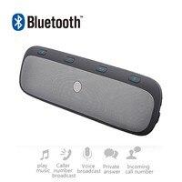 ENKLOV Dual Standby Car Bluetooth Handsfree MP3 Speakerphone Bluetooth Adapter Connect 2 Phone Bluetooth Car Kit