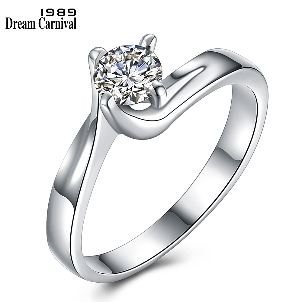 Dreamcarnival 1989 Classic Design Wedding Proposal Ring: DreamCarnival 1989 Good Price! New Classic Propose Gift