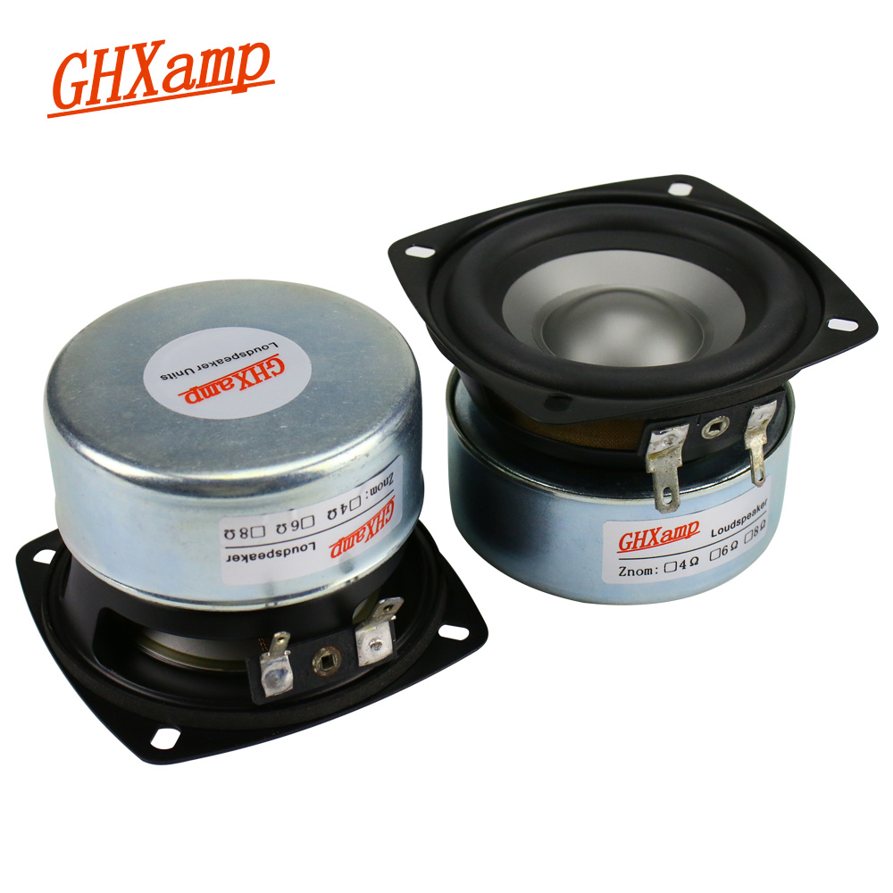3 Inch 40W Speaker Midrange Woofer 8Ohm PP C Antimagnetic Mid Bass Loudspeaker For 2.0 2.1 Sound Satellite Box 2Pcs