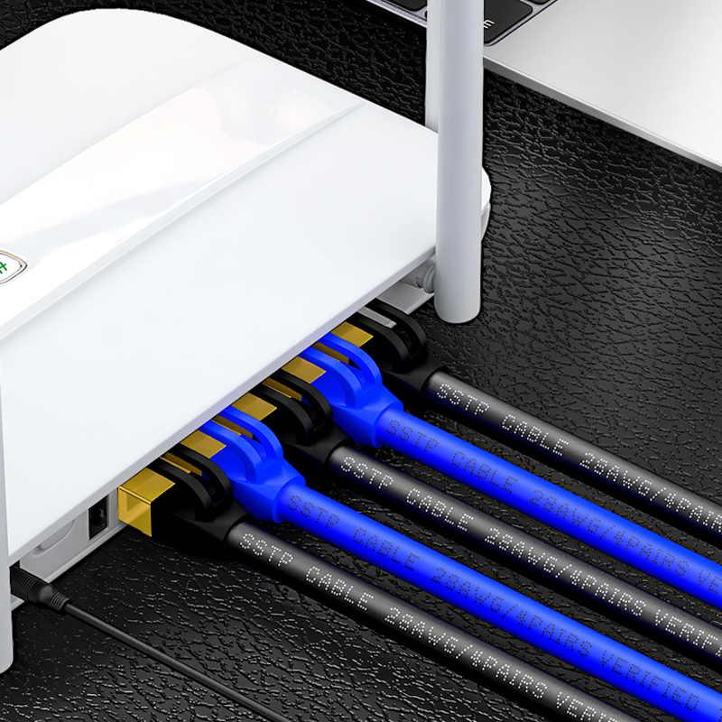 Cat7 Kabel Ethernet PATCH CABLE UTP LAN Kabel untuk RJ45 Komputer jaringan Kabel Cat6 Kompatibel Patch Cord untuk MODEM Router
