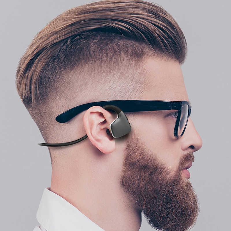 工場販売! オリジナルヘッドフォン Bluetooth 5.0 骨伝導ヘッドセットワイヤレススポーツイヤホンヘッドセット