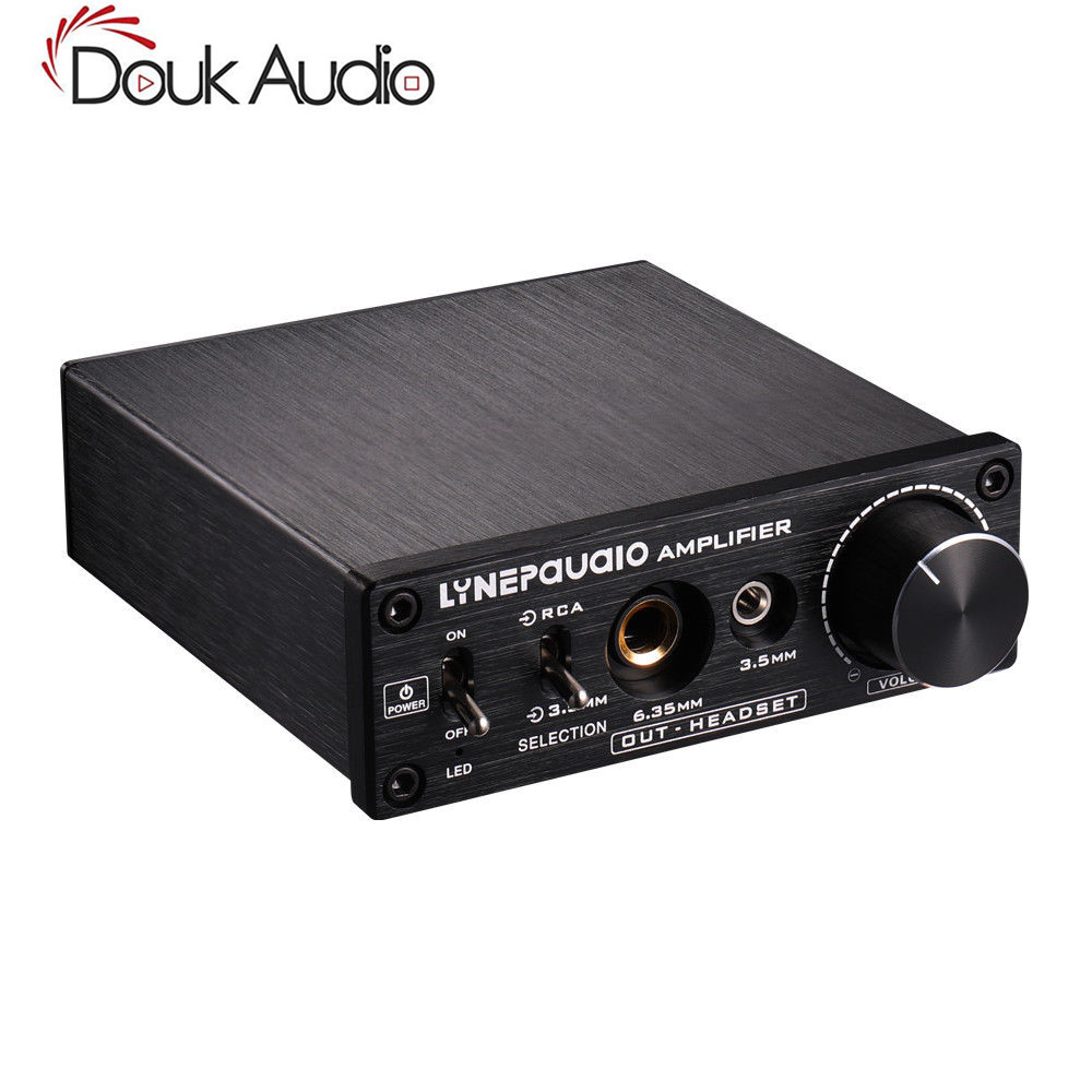 Pre-stage Stereo Signal Magnifier AV 2-IN-3-Out Headphone Amplifier HiFi Audio stereo audio amplifier 2 x 40w