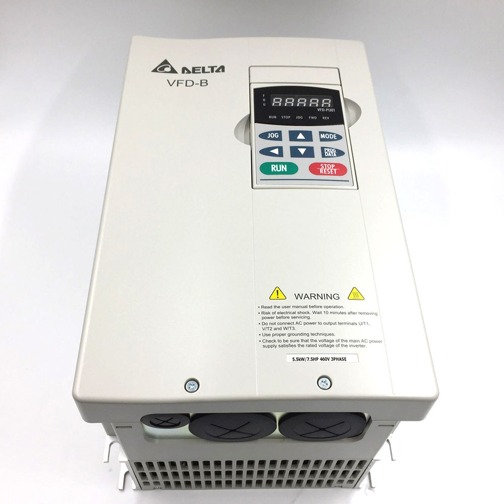 Delta Inverter VFD drive VFD055B43A 3Phase 380V 5.5kW 7.5HP 0.1~400Hz  Wood carving &Machine tool