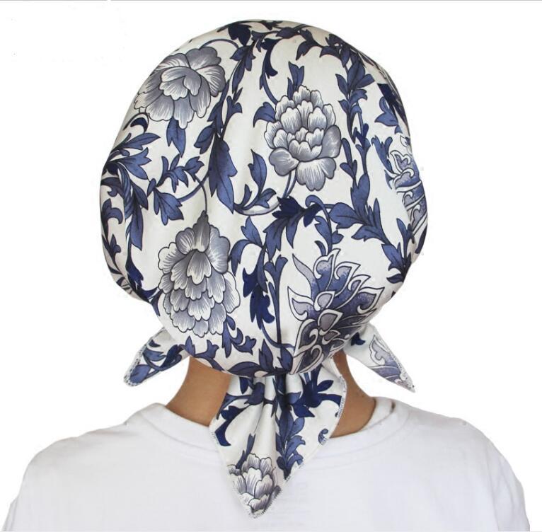 Silk Nightcap Chemo Hats Summer Thin