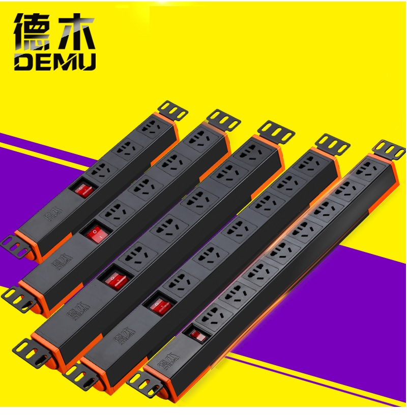 Rackmount PDU Power Distribution Unit, Power Sockets, Outlets, Options of  Circuit Breaker and SPD -Surge Protective Device