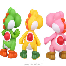 Super Mario Bros Luigi Green Pvc Action Figures Peach Princess Toad Mushroom Miniature Figurines Dolls