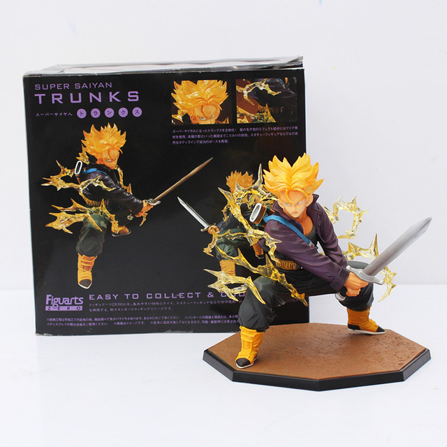 Dragon Ball Z Super Saiyan Trunks Battle Version